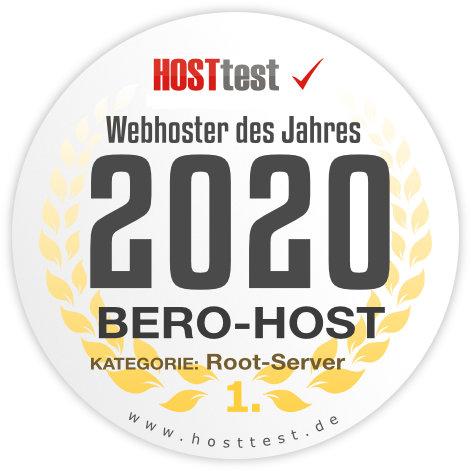 Webhoster des Jahres 2019