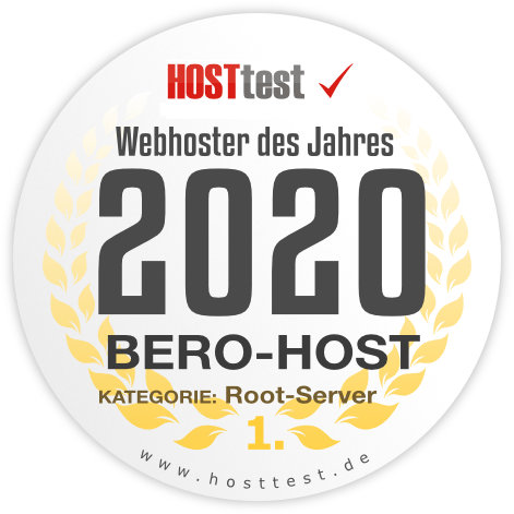 Webhoster des Jahres 2019 - Rootserver